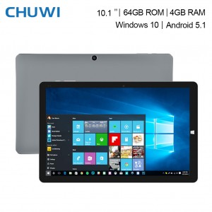 "CHUWI Hi10 Pro 10.1"" Windows 10 + Android 5.1 Dual OS Tablet PC 4GB + 64GB"