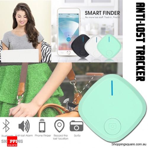 Mini Bluetooth 4.0 Smart Alarm Anti-Lost Key Finder Tracker Selfie Controller Green Colour
