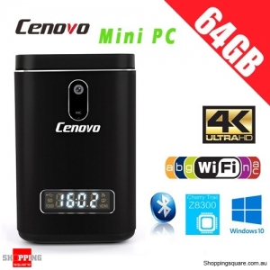 Cenovo Kingkong 4K Intel Z8300 Windows 10 4GB/64GB BT 4.0 with 2M Camera MIC HDMI Mini PC