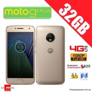 Motorola Moto G5 Plus 32GB XT1685 4G LTE Unlocked Smart Phone Fine Gold