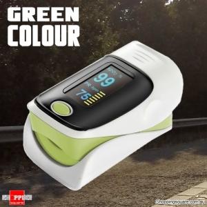 OLED Finger Pulse Oximeter Green Colour