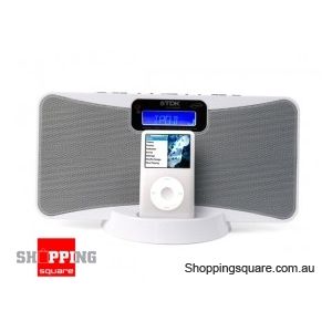 TDK IPOD SLIM SPEAKER WHITE