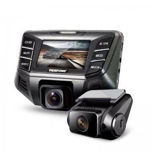 "1080P FHD 2.7"" 170 Degree Novatek 96655 Car DVR Camera + 720P Rearview Camera"