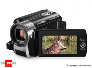 Panasonic SDR-H80 Black Digital Video Camera