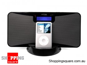TDK IPOD SLIM SPEAKER BLACK