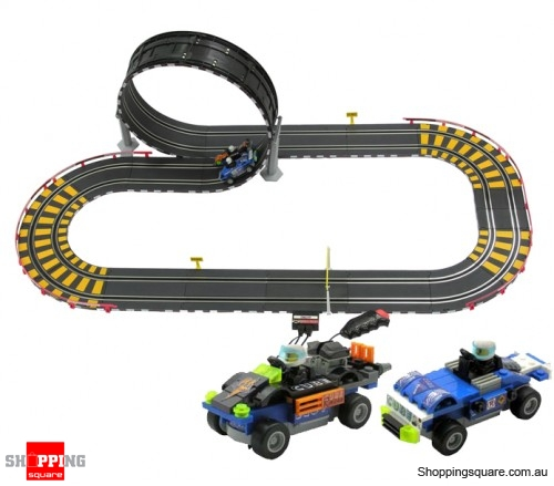 Racing Track Car Set W Build-your-own Toy Car 445cm