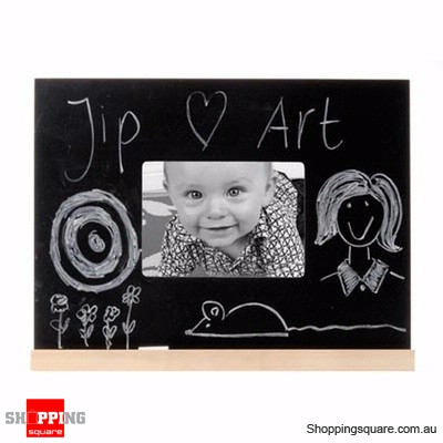 Chalk Board with Photo frame with size 30cm x 40cm