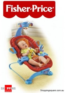 Fisher Price Sensory Selection Blue Bouncer