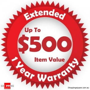 Red Extended 1 year Warranty for up to $500