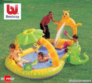 Bestway 2.9M Inflatable Jungle Safari Play Pool