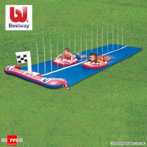 Bestway Inflatable Dash n Splash Rally Pro Water Slide