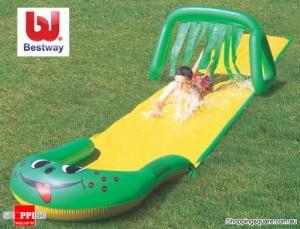 Bestway Inflatable Dash 'N Splash Octopus Canyon Slide