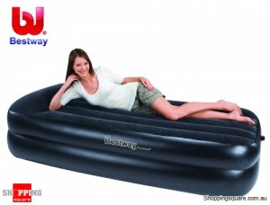 Bestway Premium Single Air Bed, Mattress with Air Pump