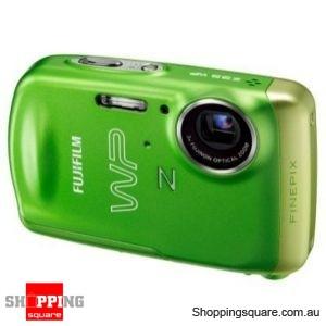 FujiFilm FinePix Z33WP Green Digital Camera