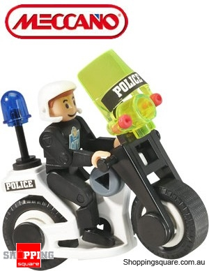 Meccano Play Buckets-Police Bucket