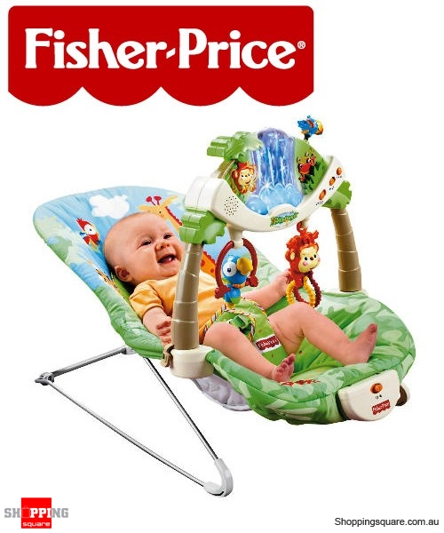 a2df73897 Fisher Price Rainforest Bouncer - Online Shopping @ Shopping Square.COM.AU  Online Bargain & Discount Shopping Square