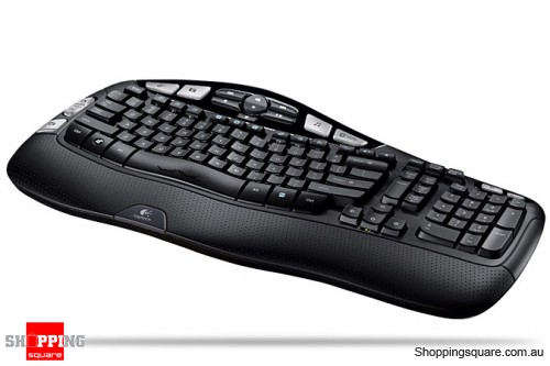 Logitech Cordless Wave Keyboard Windows XP/Vista OEM BOX