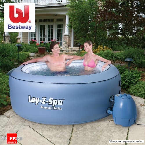 BESTWAY Lay-Z-Spa Hydro Massage, Heating Pool Spa