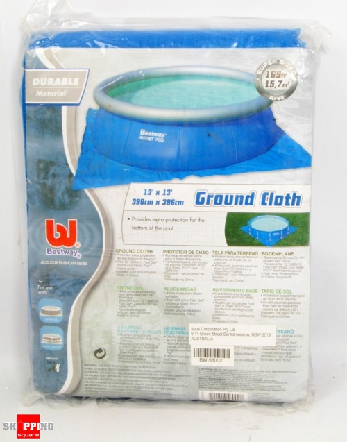 Bestway Ground Cover Mat for Fast Set Pool - 366cm ( Code: BW-58002 )