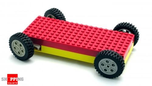 radio remote control diy brick building car platform