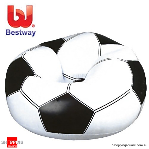 BESTWAY Beanless Soccer Ball Inflatable Chair