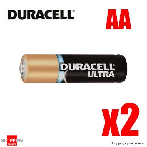 Duracell Ultra Alkaline Batteries - 2x AA