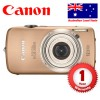 Canon IXUS200IS Touch Screen Digital Camera, Bronze