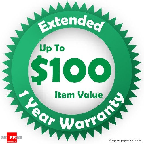 Green Extended 1 year Warranty for up to $100