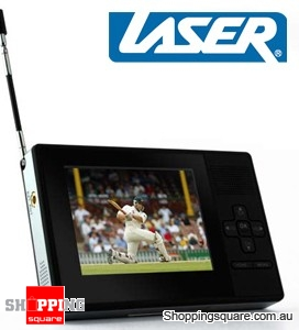 "LASER MP32 Pocket 3.5"" TV, Multimedia Playback +TV Rec"