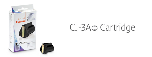 Canon CJ3AII Black Ink
