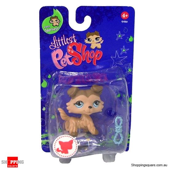 HASBRO Littlest Pet Shop Single Pets Sportiest: Collie Dog ...