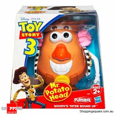 PLAYSKOOL Toy Story 3 Mr. Potato Head: Woodys Tater Round Up