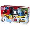 MEGA BLOKS Play N Go 6611 Pull Along Musical Pirate Ship