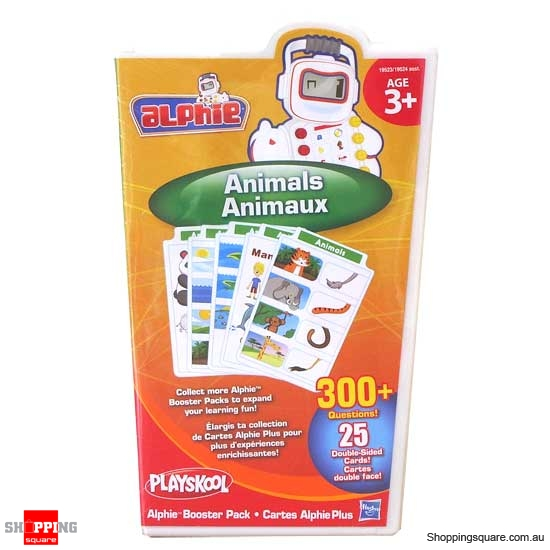 PLAYSKOOL Alphie Booster Pack: Animals