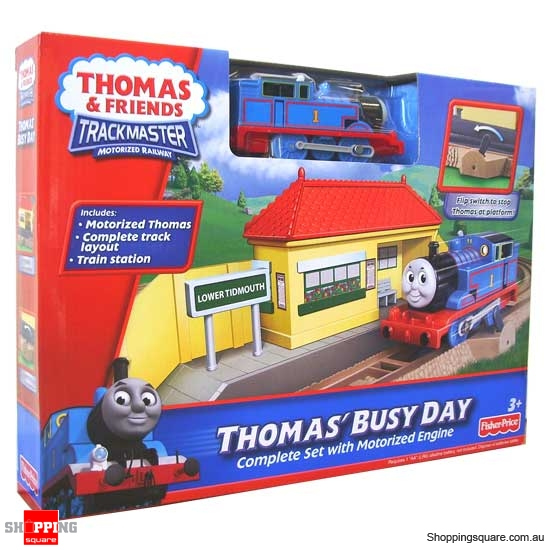 FISHER PRICE Thomas & Friends TrackMaster: Thomas Busy Day Starter Set