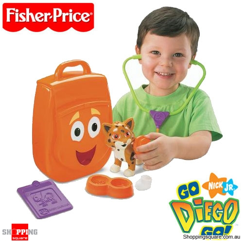 FISHER PRICE Go Diego Go My Talking Rescue Pack