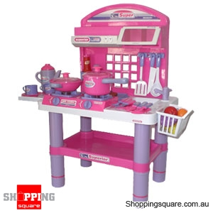 Kitchen Cooking Stove Table Kids Pretend Play Set Online Shopping