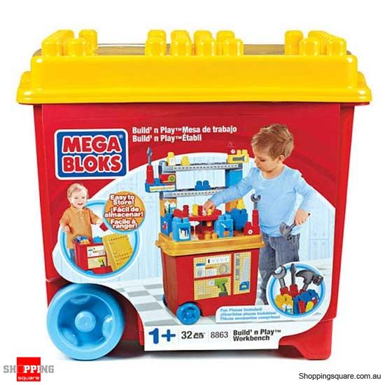 MEGA BLOKS Maxi 8863 Build n Play Workbench - Online Shopping ...