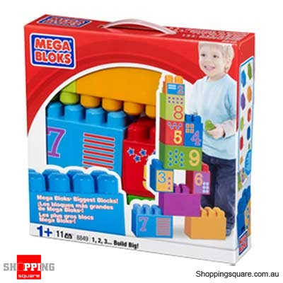 MEGA BLOKS Maxi 8849 123 Build Big