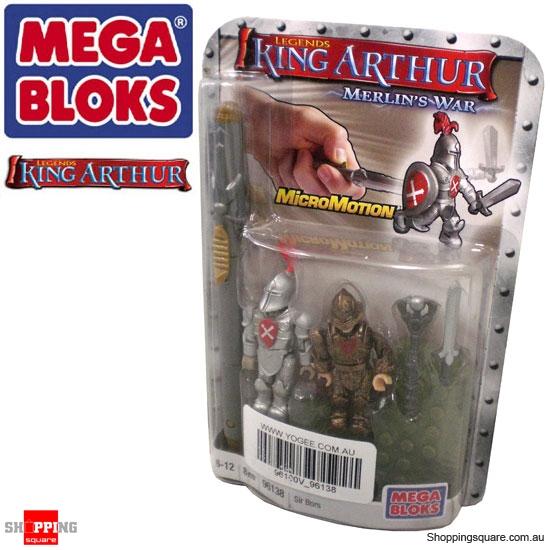 Mega Bloks King Arthur 96138 Merlins War Sir Bors