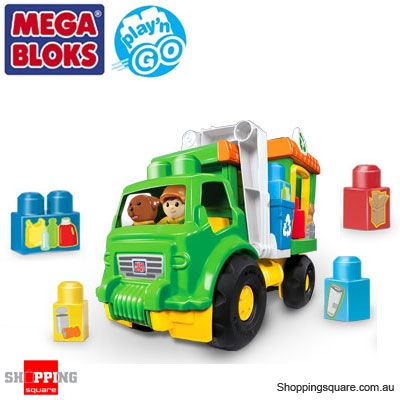 MEGA BLOKS 8285 Play N Go Recycle Truck