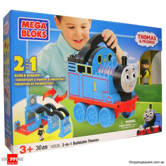 MEGA BLOKS Thomas & Friends 10535 2-in-1 Buildable Thomas