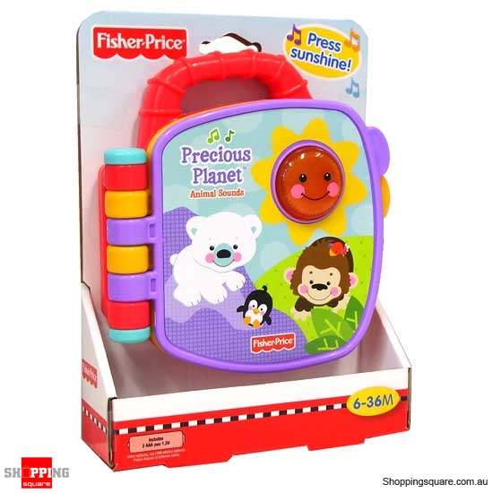 FISHER PRICE Precious Planet Animal Sounds Book