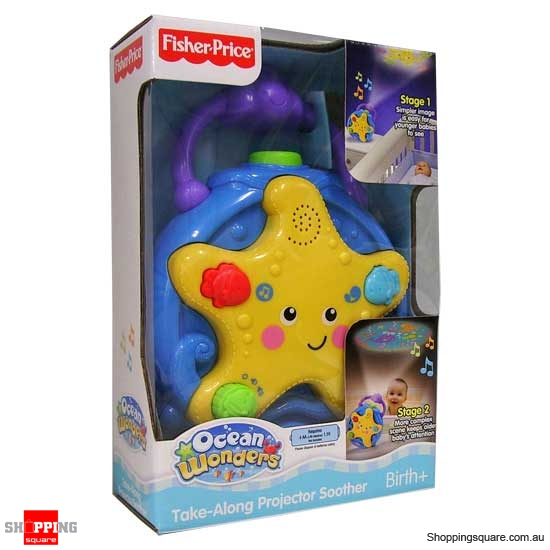 FISHER PRICE Ocean Wonders Take-Along Projector Soother - Online Shopping @ Shopping Square.COM ...
