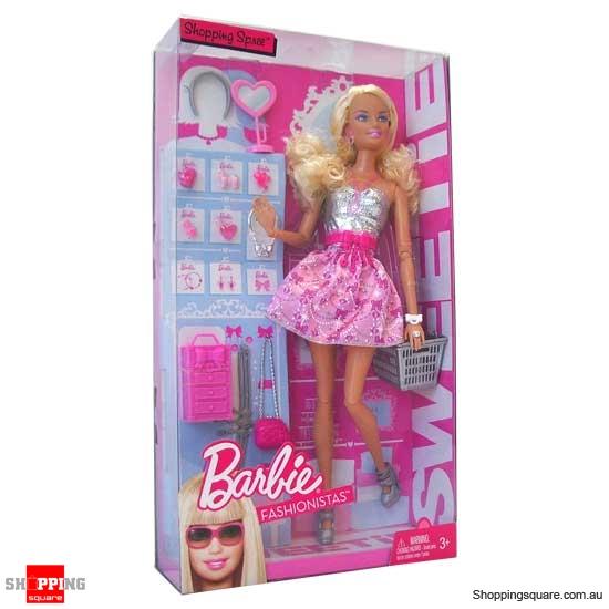 shopping barbie