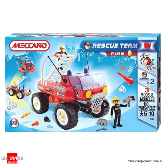 MECCANO Rescue Team 716111 Fire Truck