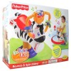 FISHER PRICE Go Baby Go Bounce & Spin Zebra