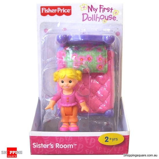 Fisher Price My First Dollhouse Sisters Room Online Shopping