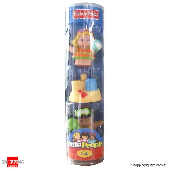 FISHER PRICE Little People Figure Tube Beach