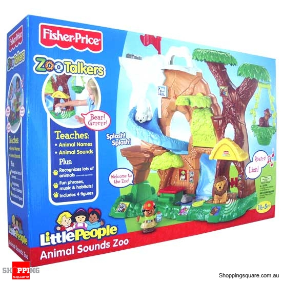 FISHER PRICE Little People Zoo Talkers Animals Sounds Zoo - Online Shopping @ Shopping Square ...
